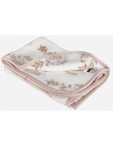Одеяло детское шерстяное Олива